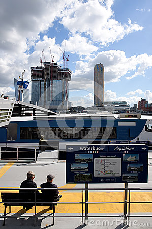 Rotterdam transportation Editorial Photo
