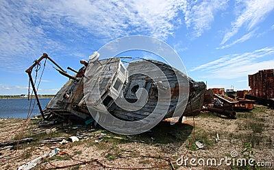 Rotting Fishing Boat
