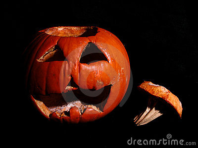 Rotting Pumpkin