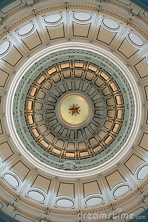 Free Rotunda Of The Texas State Capitol Building Stock Photo - 9211750