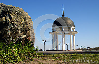 Rotunda and stone