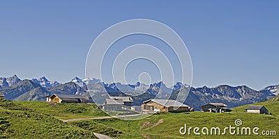 Rotwandl pasture huts