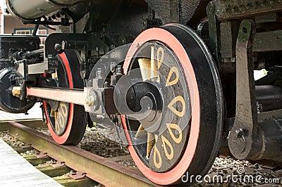 Roue locomotive