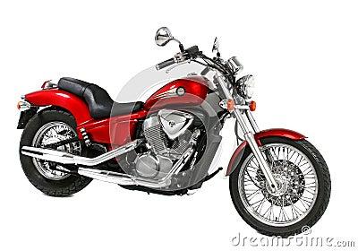 Rouge de moto