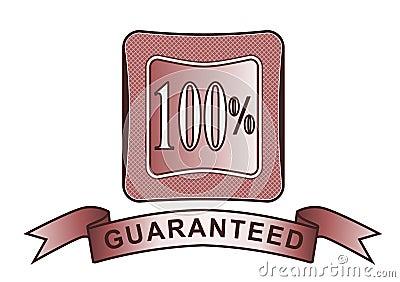 Rouge garanti par 100  de crête