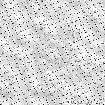 Rough alloy diamond plate meta