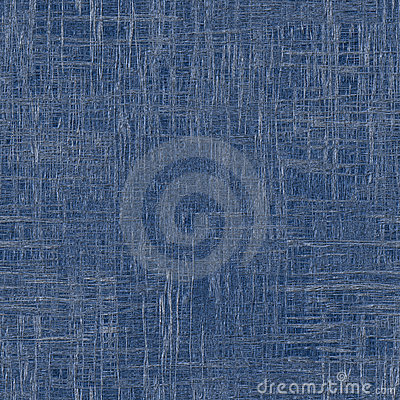 Rough blue fabric with visible threads