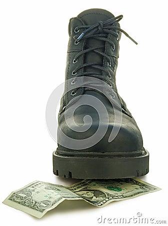 Rough boot