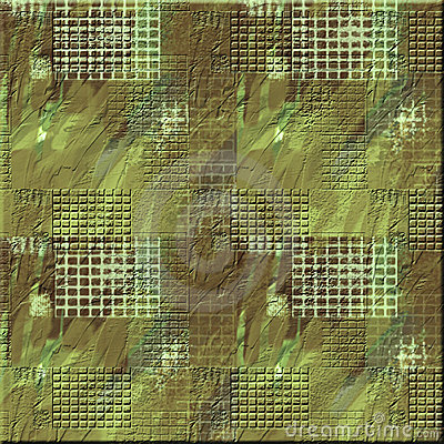 Rough Camo Square