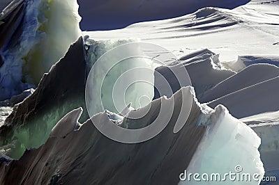 Rough ice