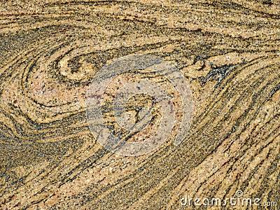 Rough migmatite rock texture