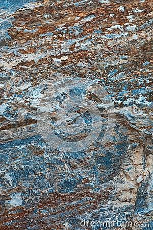 Rough rock surface.