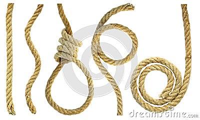 Rough rope