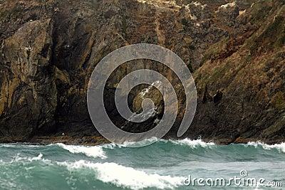 Rough Seas and Oregon Coast
