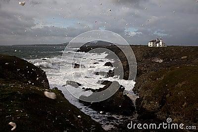 Rough seas at Rhoscolyn Headland