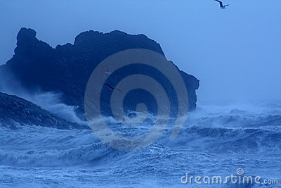Rough Stormy Sea