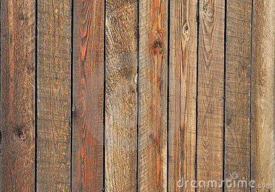 Rough toned wooden boards background