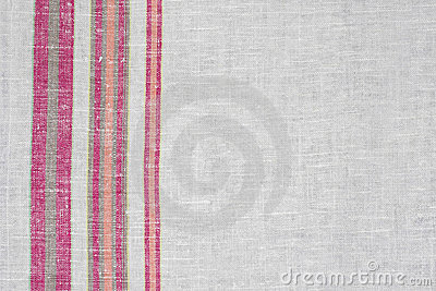 Rough Ukrainian linen cloth