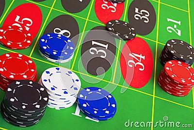 Roulette Placing Bets