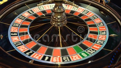 Roulette Table In Casino 4k Stock Footage Video Of Play Finance 109831190
