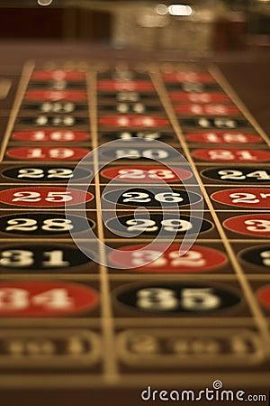 Roulette Table In Las Vegas