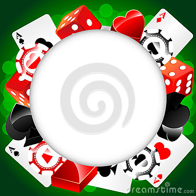 Roulette Vector Casino Background Stock Photo - Image: 25189770