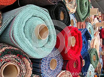 Roulis de tissu