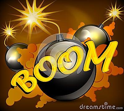 Bomb background