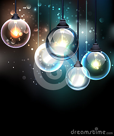 Free Round Bulb Royalty Free Stock Image - 67444636