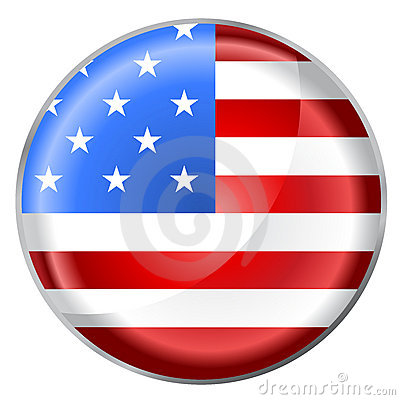 Round button flag