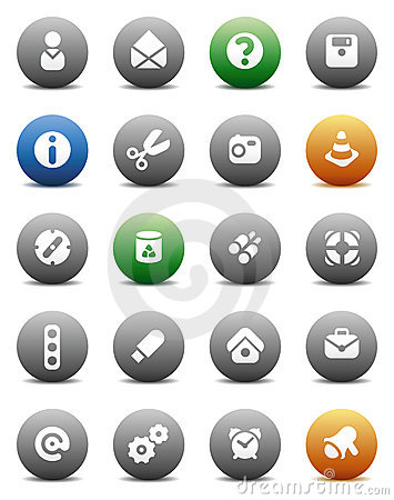 Round buttons miscellaneous