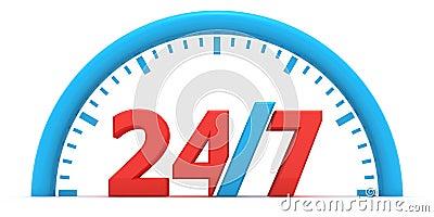 Round-the-clock