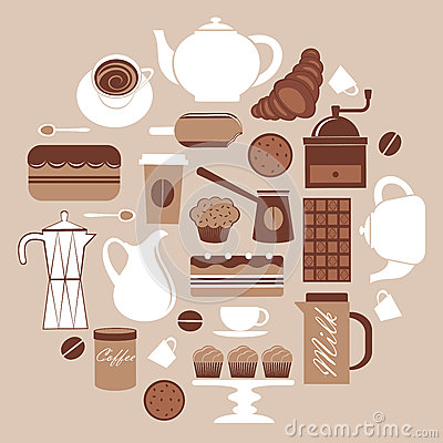 Round coffee composition