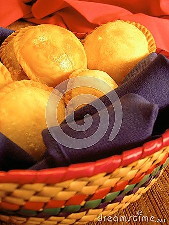 Free Round Empanadas From Mexico Stock Image - 4735181