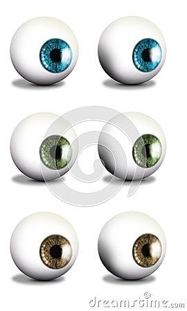 Round Eyeballs