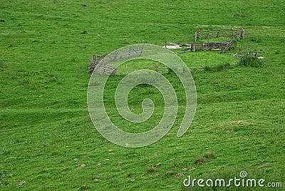 Round fence