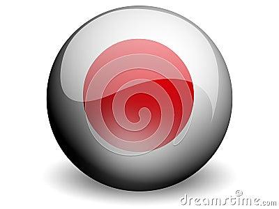 Round Flag of Japan