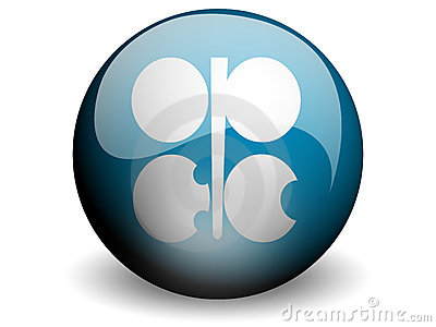 Round Flag of OPEC