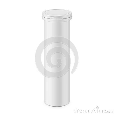 Free Round Glossy Aluminum Bottle Template. Stock Photography - 81202892