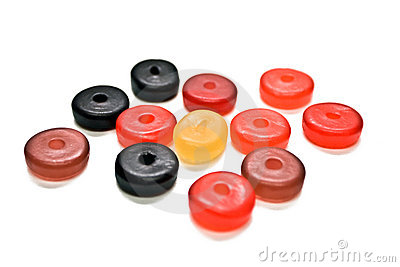 Round Gummy Candies