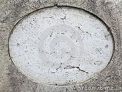 Round hole on stone