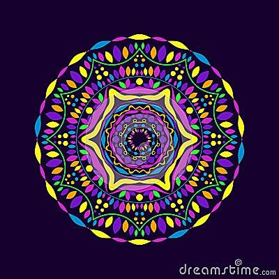 Round Lace Ornament