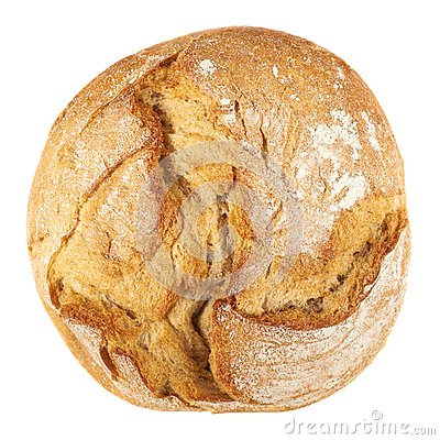 Free Round Loaf Of Bread Stock Photo - 45286830