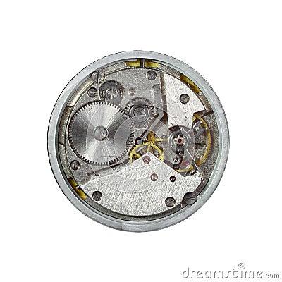Clockwork closeup