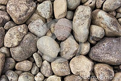 Round river rocks