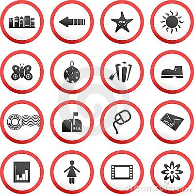 Free Round Road Signs Stock Photos - 5749603