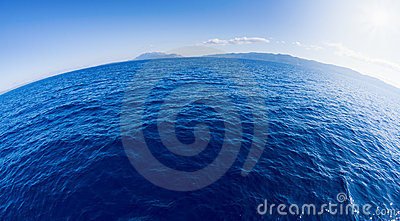 Round sea