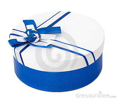 Round shape gift box