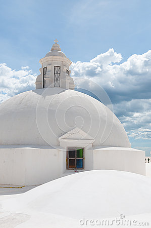 Free Round Sphere Rooftop On Top Of A Church With Royalty Free Stock Image - 63893686