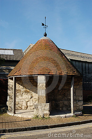 Round stone building, Southampton